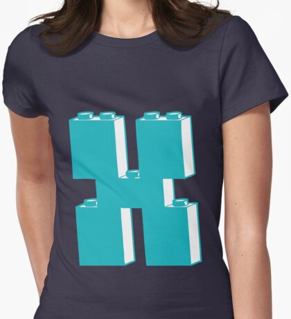 THE LETTER X Womens Fitted T-Shirt