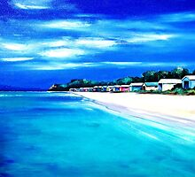 "Mornington Peninsula Local Beach by Belinda ""BillyLee"" NYE (Printmaker)"