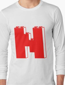 THE LETTER N Long Sleeve T-Shirt