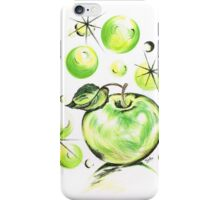 Apple with Soapy Bubbles iPhone Case/Skin