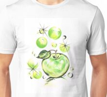 Apple with Soapy Bubbles Unisex T-Shirt