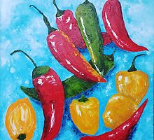 Hot Chillies by Ria  Rademeyer