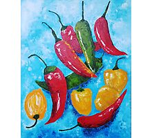 Hot Chillies Photographic Print