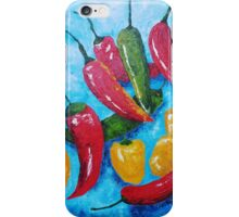 Hot Chillies iPhone Case/Skin