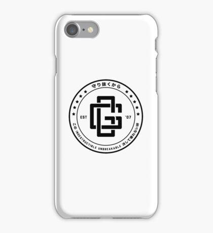 SJJD Indestructible - B/W iPhone Case/Skin