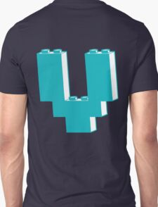 THE LETTER V by Customize My Minifig T-Shirt