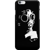 Gask Masks Are Sexy iPhone Case/Skin