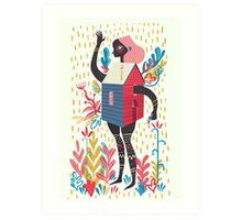 House house Art Print