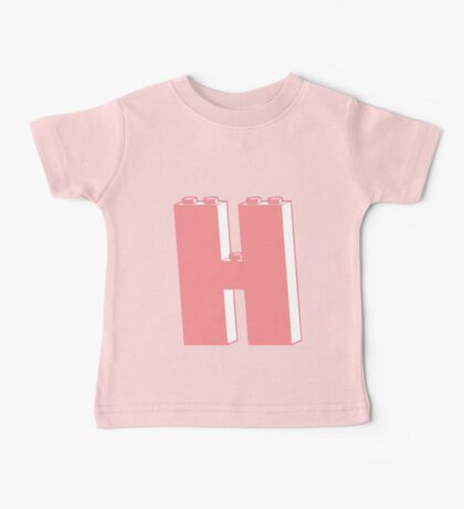 THE LETTER H  Baby Tee