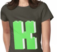 THE LETTER K Womens Fitted T-Shirt