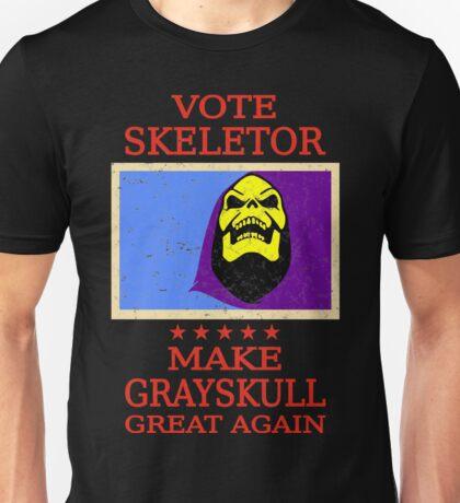 Vote Skeletor Unisex T-Shirt