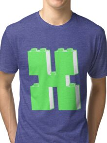 THE LETTER X Tri-blend T-Shirt