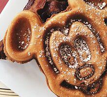 MICKEY shaped waffles  by Disneyland1901