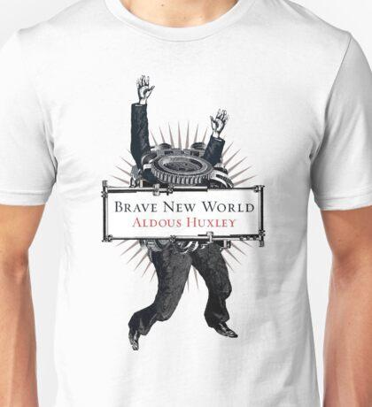 Brave New World - Aldous Huxley Cover Unisex T-Shirt