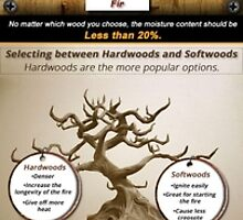How to Choose the Right Wood for Your Chimney by jamesthesweep
