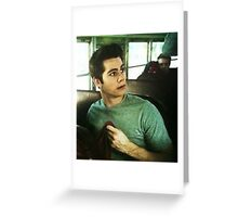 Dylan O'brien Greeting Card