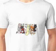 The cat club is open Unisex T-Shirt