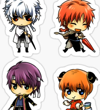 Gintama Sticker Set B Sticker