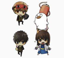 Gintama Sticker Set A by banafria