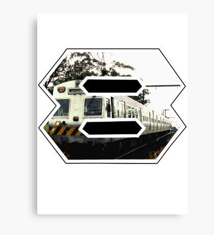 Fr8 Train Canvas Print