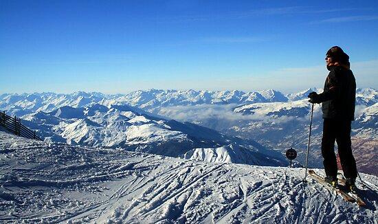 Skier by Adrian Richardson
