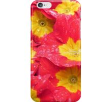 Yellow & Red flowers iPhone Case/Skin
