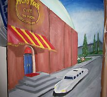 Hard Rock Cafe on the Moon by StPete