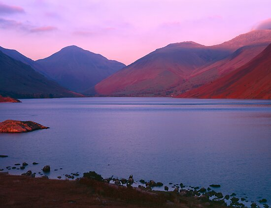 Sunset at Wastwater by PigleT