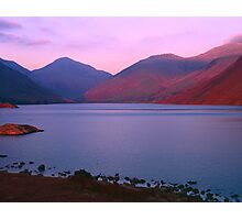Sunset at Wastwater Photographic Print