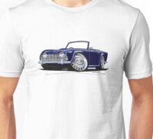 Triumph TR4 Dark Blue Unisex T-Shirt