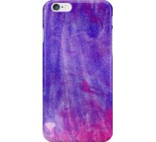 Pink and Violet Painted Texture iPhone Case/Skin