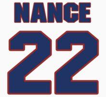 Basketball player Larry Nance jersey 22 by imsport
