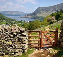 View Of Ullswater by Gary Kenyon