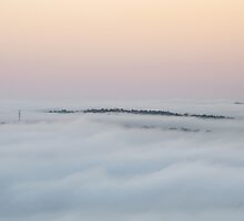 Sky Above and Clouds Below by Leeo