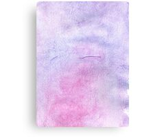 Pink and Violet Painted Texture 3 Canvas Print