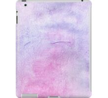 Pink and Violet Painted Texture 3 iPad Case/Skin