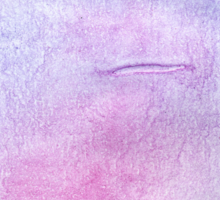 Pink and Violet Painted Texture 3 Sticker