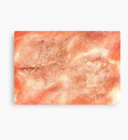 Red Colored Paper Canvas Print