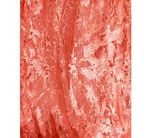 Red Colored Paper 2 Photographic Print