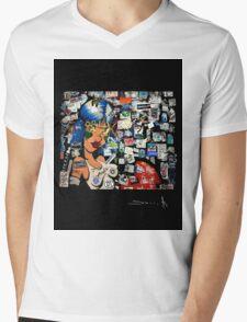 R D Amsterdam Mens V-Neck T-Shirt
