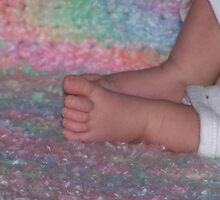 Baby Feet by Stephanie Lawrence