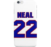 Basketball player Craig Neal jersey 22 iPhone Case/Skin