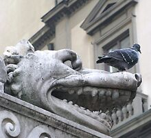 Enchanting Medieval Gargoyle by creativetravler