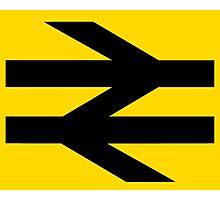 British Rail Arrows - Black Photographic Print