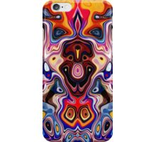 Faces In Abstract Shapes 1 iPhone Case/Skin
