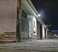 Melbourne Series - Yarra Boardwalk by sparrowhawk