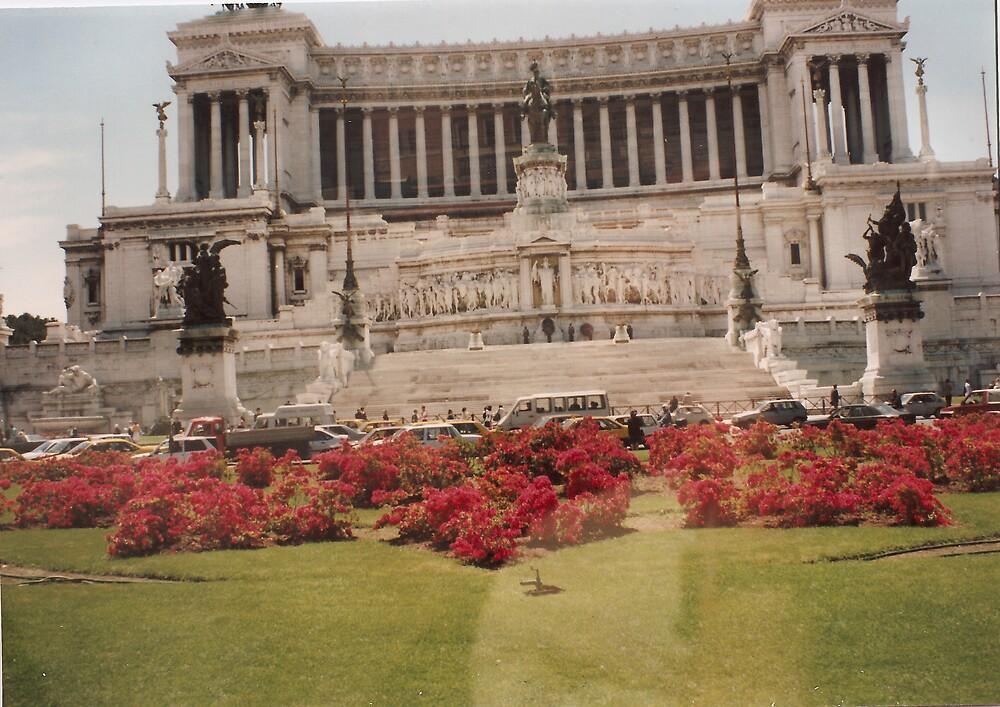 Mausoleum Rome about 1981 by Patrick Ronan