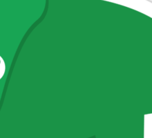 Green dinosaur cute! Sticker