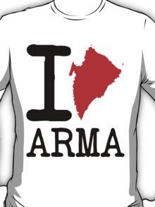 I ♥ Arma  T-Shirt