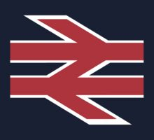 British Rail Arrows - Red and White Kids Clothes